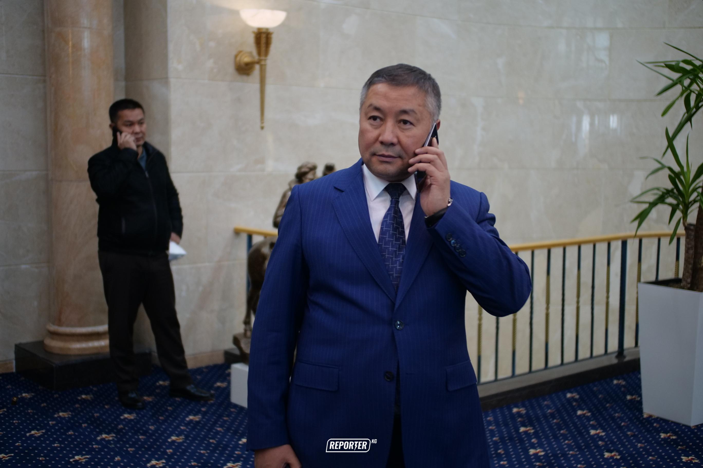 Канатбек Исаев Жогорку Кеңештин төрагасы болуп шайланды