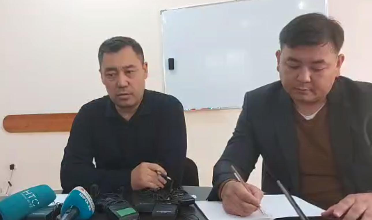 Садыр Жапаров брал у Жээнбекова $10 млн? Возбуждено уголовное дело