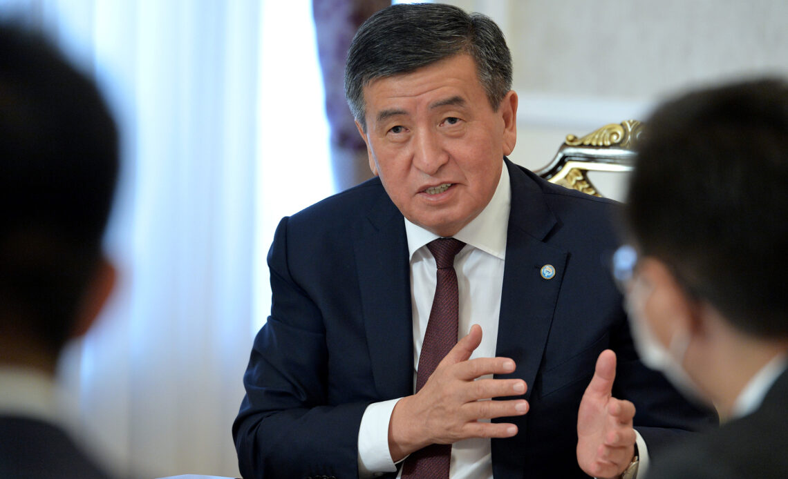 Сооронбай Жээнбековдун Президенттиги – видео