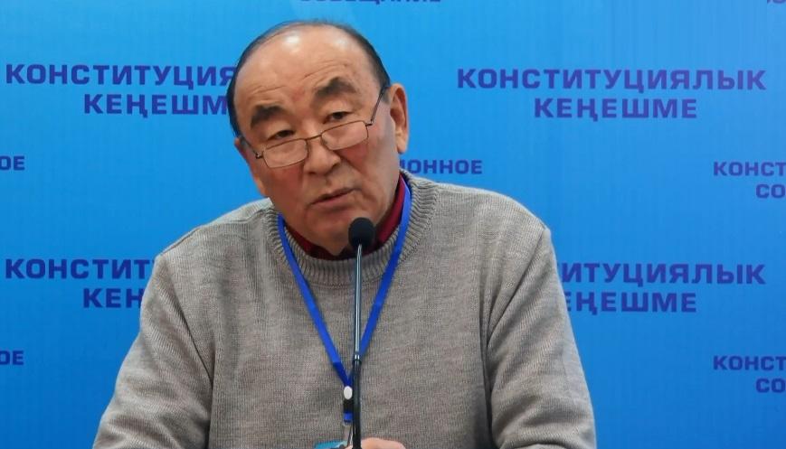 Мамлекеттик тил комиссиясына Сыртбай Мусаев жетекчи болду