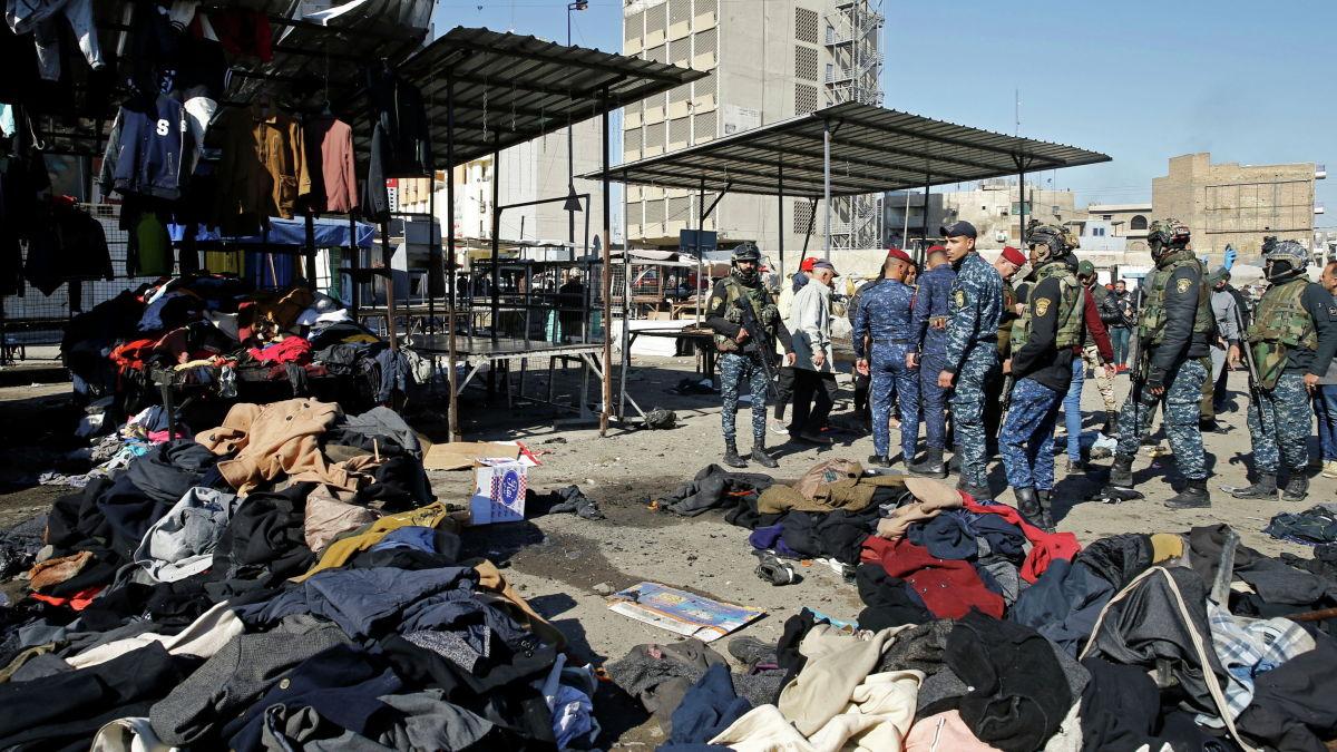 Багдаддагы жардыруудан 32 киши мерт кетти