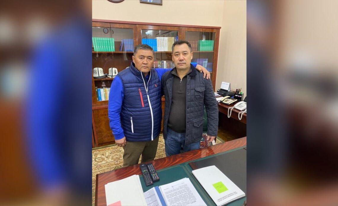 Ташиев: Садырды президент кылам деген сөзүмө турдум
