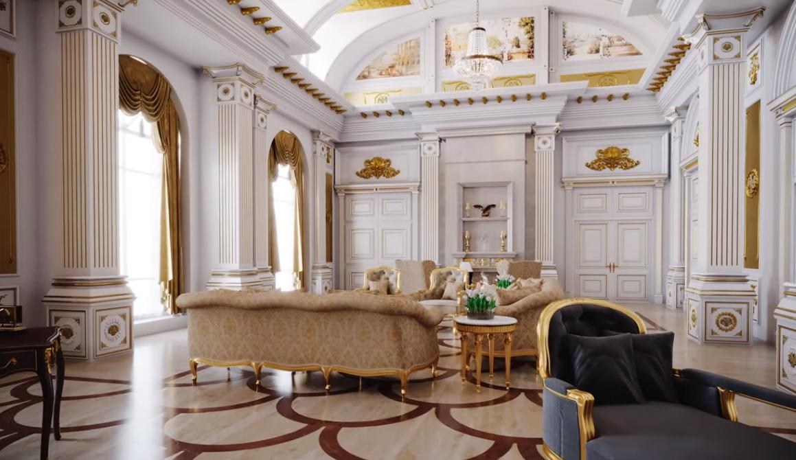 Көз жоосун алган Путиндин хан сарайы — видео