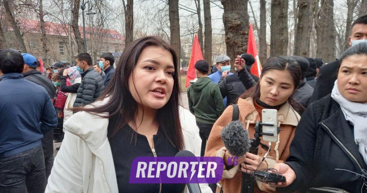 Алканова: Бүт кыргыз элитасын Матраимов каржылап келген – видео