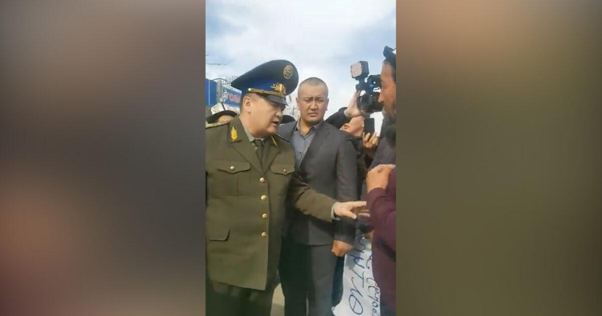 Камчыбек Ташиев Баткенге учуп барды – видео