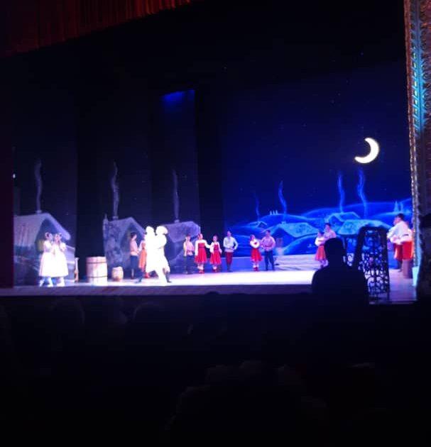 Бишкекте «Рождество алдындагы түн» балетинин бет ачаары болду