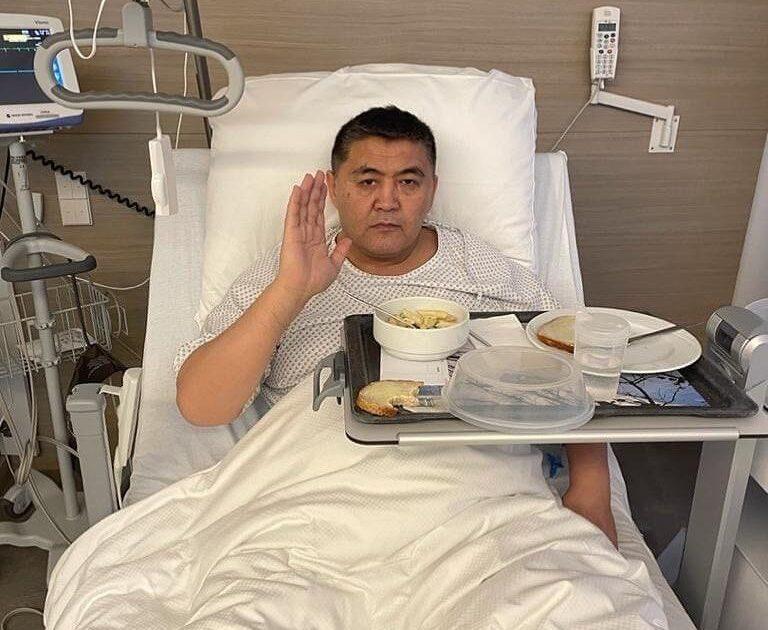 Ташиевге Германиядан жүрөгүнө операция жасалды