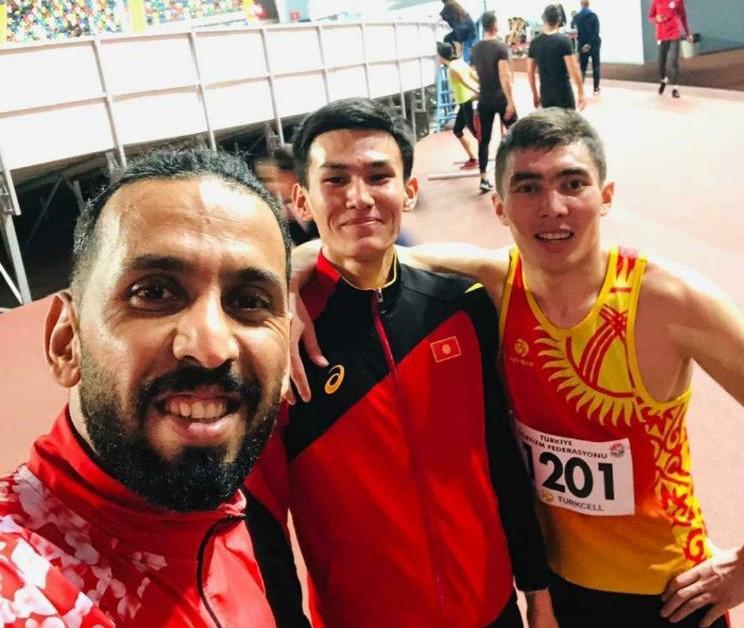 Легкоатлет Мусулман Джоломанов завоевал бронзовую медаль в Открытом чемпионате Турции
