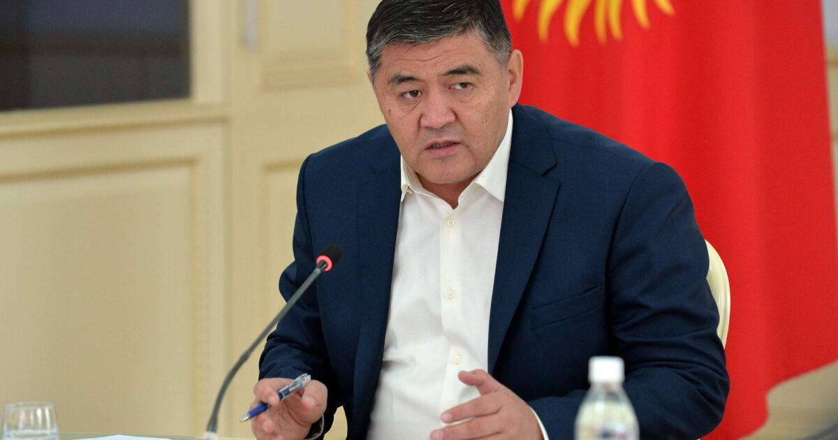 Камчыбек Ташиев эртең Кыргызстанга учуп келет