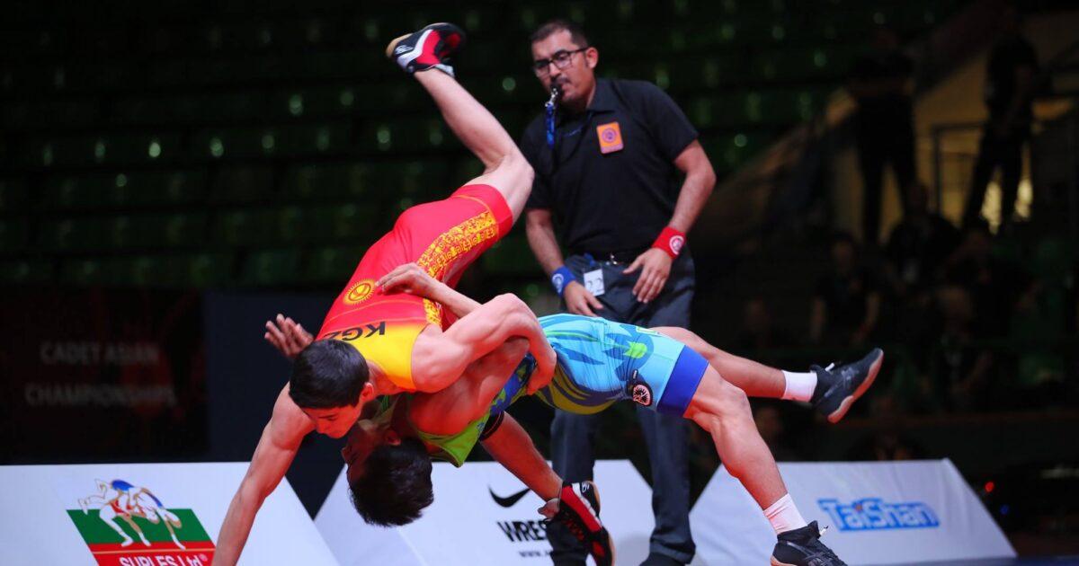 Эркин күрөш боюнча балбандар Азия чемпиондугунда 4 медаль утту