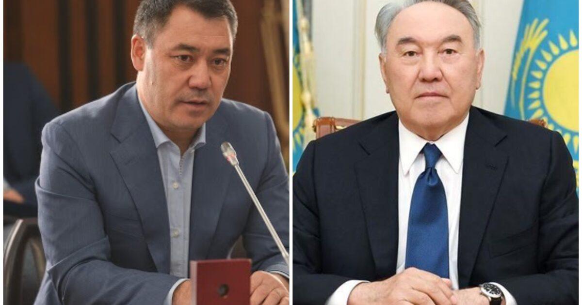 Жапаров Казакстанга болгон сапардын алкагында Нурсултан Назарбаев менен да жолугушат
