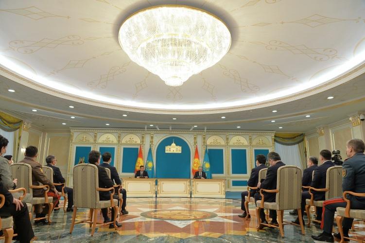 Садыр Жапаров: Кийинки жылы Казакстанда Кыргызстандын маданият күндөрү өтөт