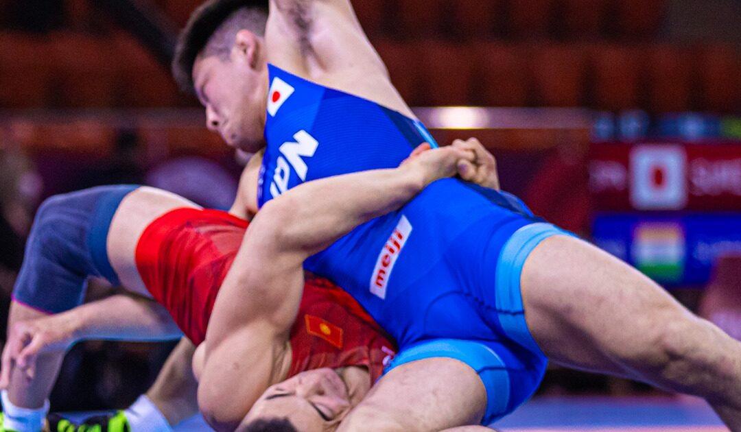 Кыргыз балбандары грек-рим күрөшү боюнча Азия чемпиондугунда 3 күмүш, 5 коло байге жеңди