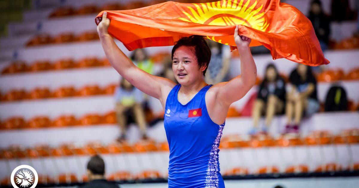 Мээрим Жуманазарова Азия чемпиону атыкты