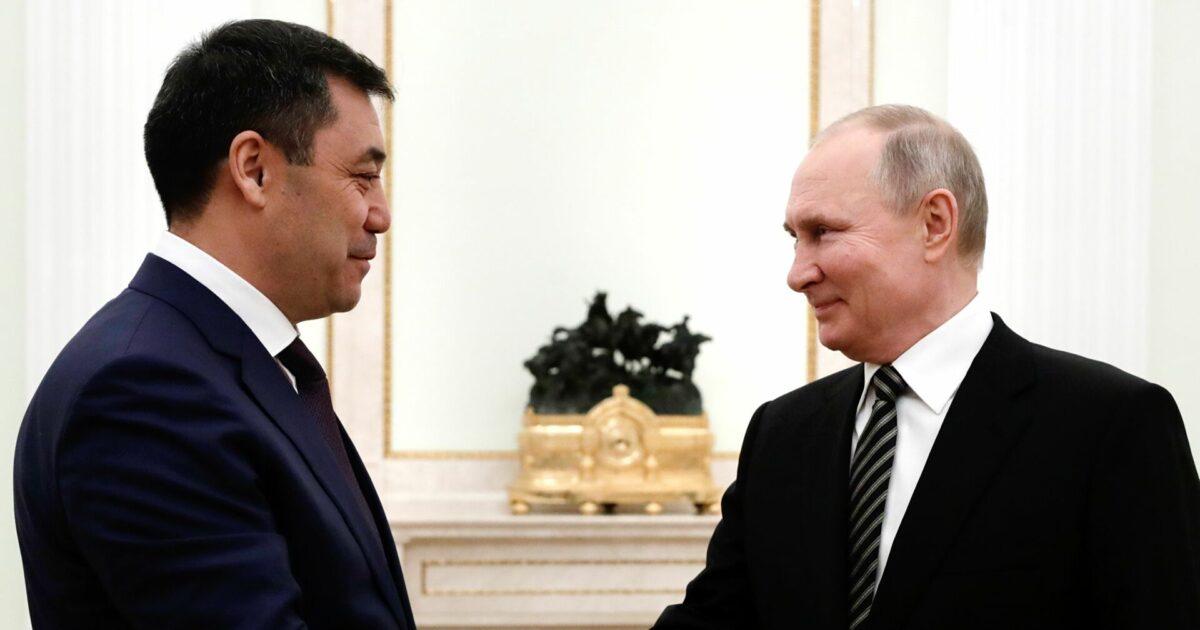Жапаров менен Путиндин коштошуусу кыргызстандыктарды кубантты — видео