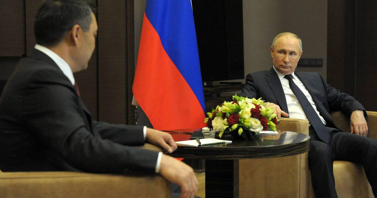 Жапаров менен Путин уу-коргошун тууралуу сүйлөштүбү? Расмий жооп