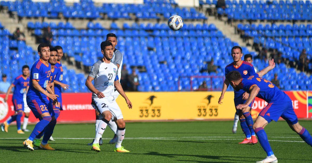 Бүгүн АФК Кубогунда Кыргызстан менен Тажикстандын командалары беттешет