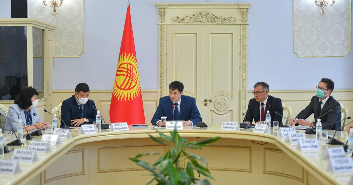Марипов жаңы орун басарларын министрлер кабинетине тааныштырды