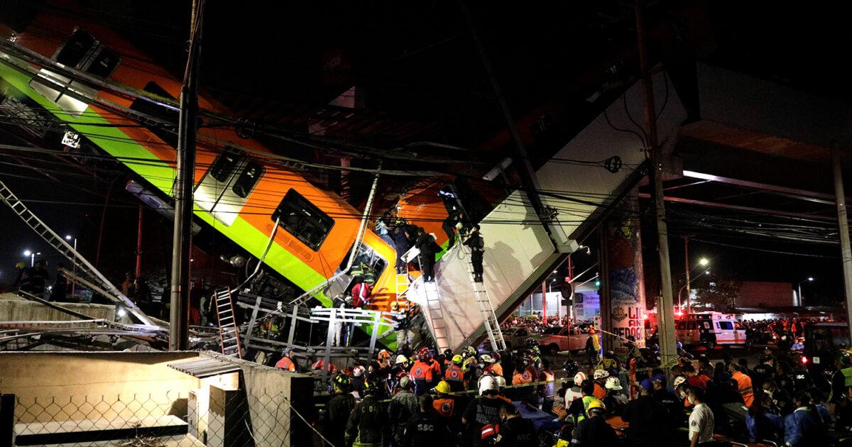 Мехико шаарындагы көпүрөнүн кыйрашы 20 адамдын өмүрүн алды