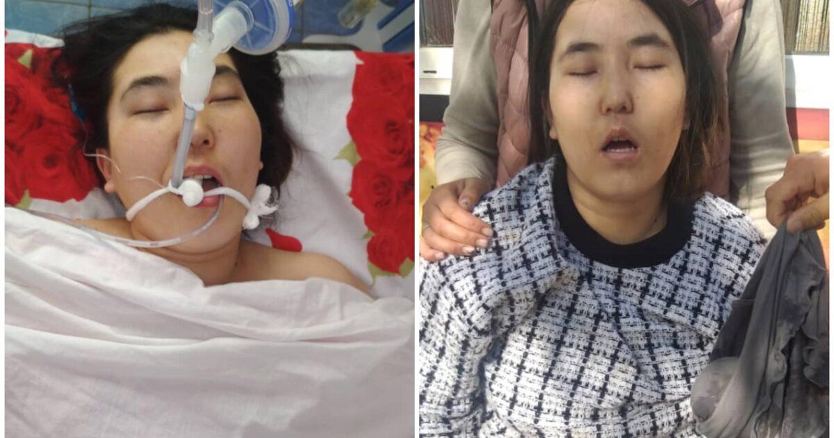 Ысык-Көлдө комага түшүп калган кызды Бишкекке алып кетти