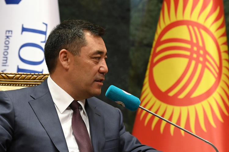 Жапаров пригласил турецкий бизнес в КР: «Министры сами будут ходить за инвесторами»