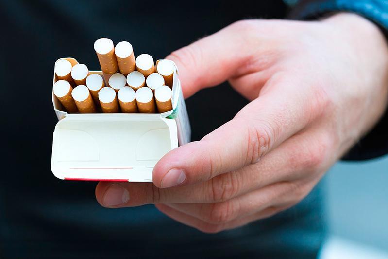 В Чуйской области мужчина украл 360 пачек сигарет