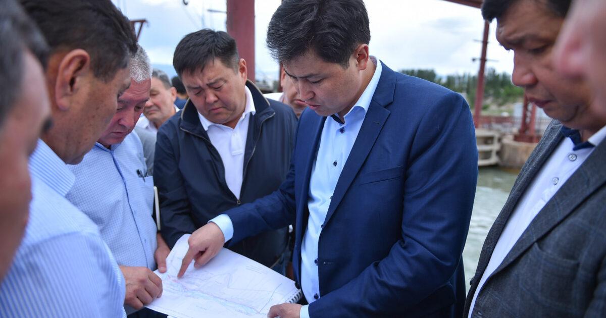 Марипов сообщил, почему пропадает вода в реке Чу