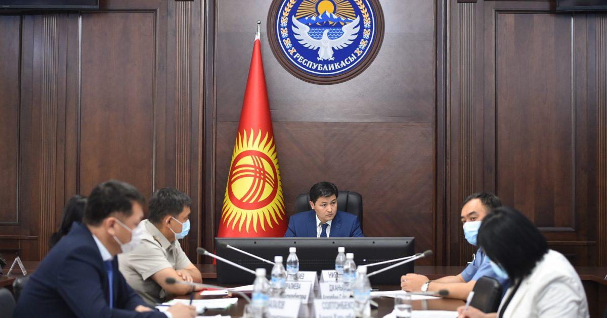 Марипов потребовал принять меры по сохранению воды в Токтогульском водохранилище
