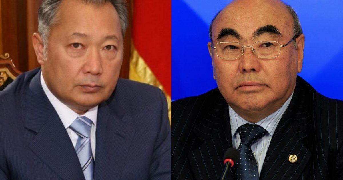 Кыргызстанцев готовят к возвращению Бакиева? Реакция на приезд Акаева