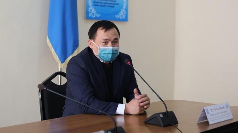 Мэр Бишкека уволил акима Первомайского района