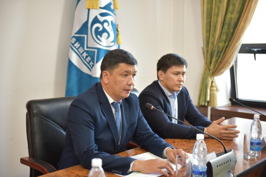 Бишкек: Жаңы мэр программасын 3 айда бүтөт