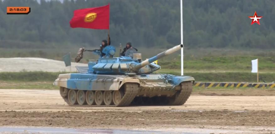 """""""Танк биатлону — 2021"""" таймашын Кыргызстан жеңди"""
