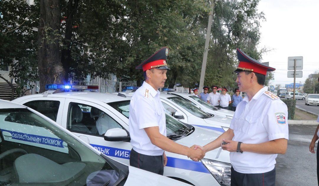Милиционеры Чуйской области получили новые авто