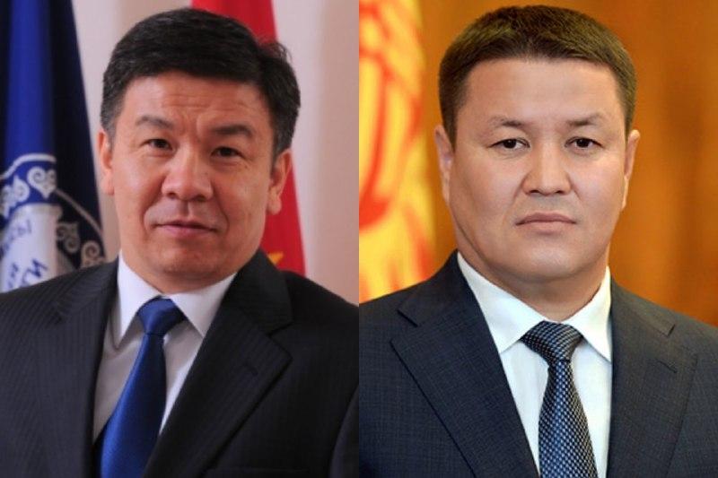 Стало известно с какой партией пойдут на выборы Шыкмаматов и Мамытов