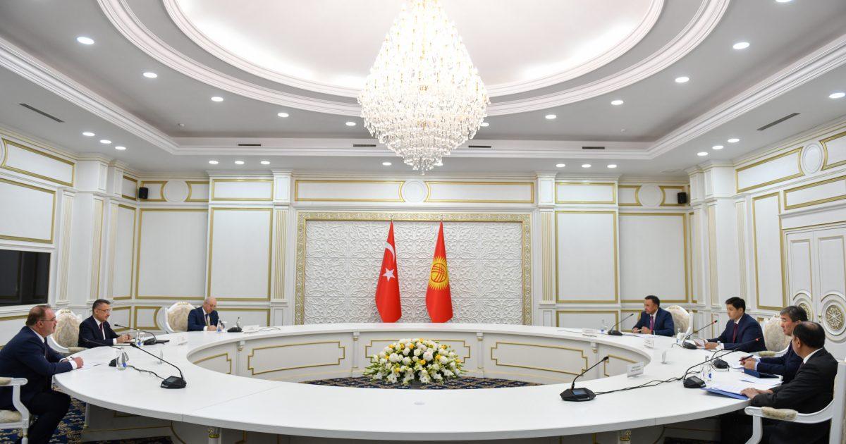Кыргыз-Түрк соода алакасы 1 млрд. долларга жетет