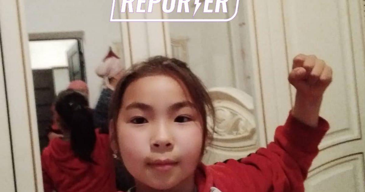 Фото девочки, которую ищет Айсулуу Тыныбекова