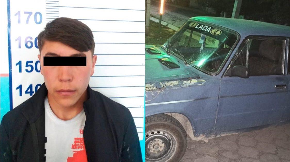 В Иссык-Кульской области задержан 18-летний угонщик