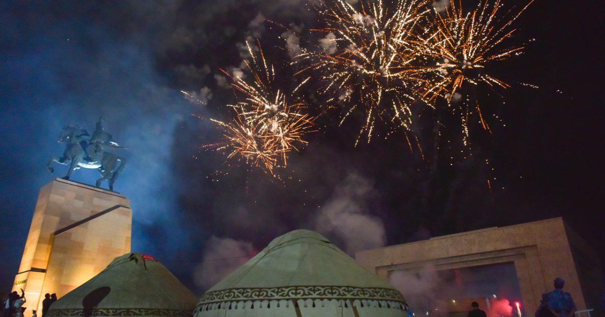 Каким был праздник ко Дню независимости в Бишкеке. Фото