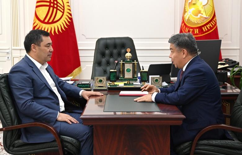 Алмамбет Шыкмаматов министрликтен кетет