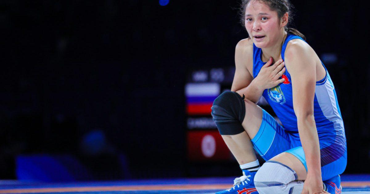 Калмира Билимбек стала лучшей в спортивной борьбе на Играх СНГ в Казани
