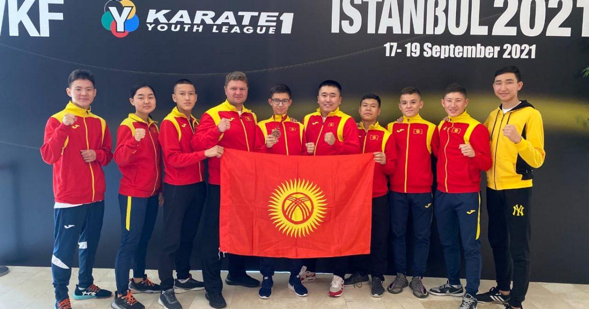 Бишкекский спортсмен стал призёром Всемирной юношеской лиги по каратэ