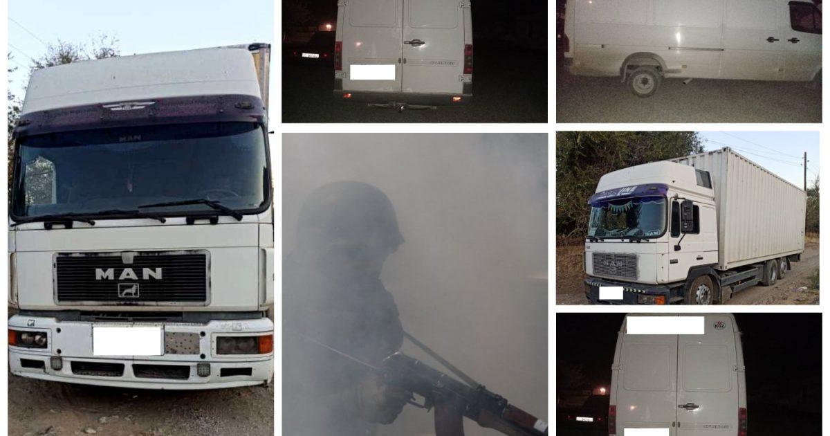 Фото — В Баткене пограничники открыли огонь, чтобы остановить контрабандистов