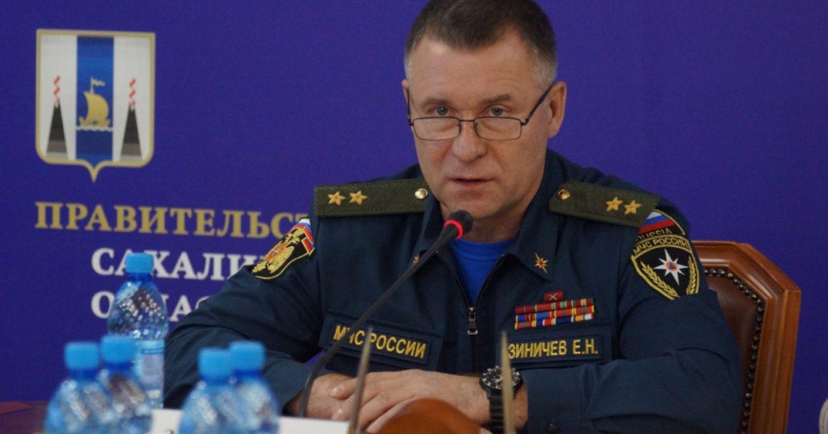 При спасении человека погиб министр МЧС России