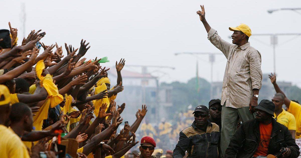 Гвинеяда мамлекеттик төңкөрүш болду — видео