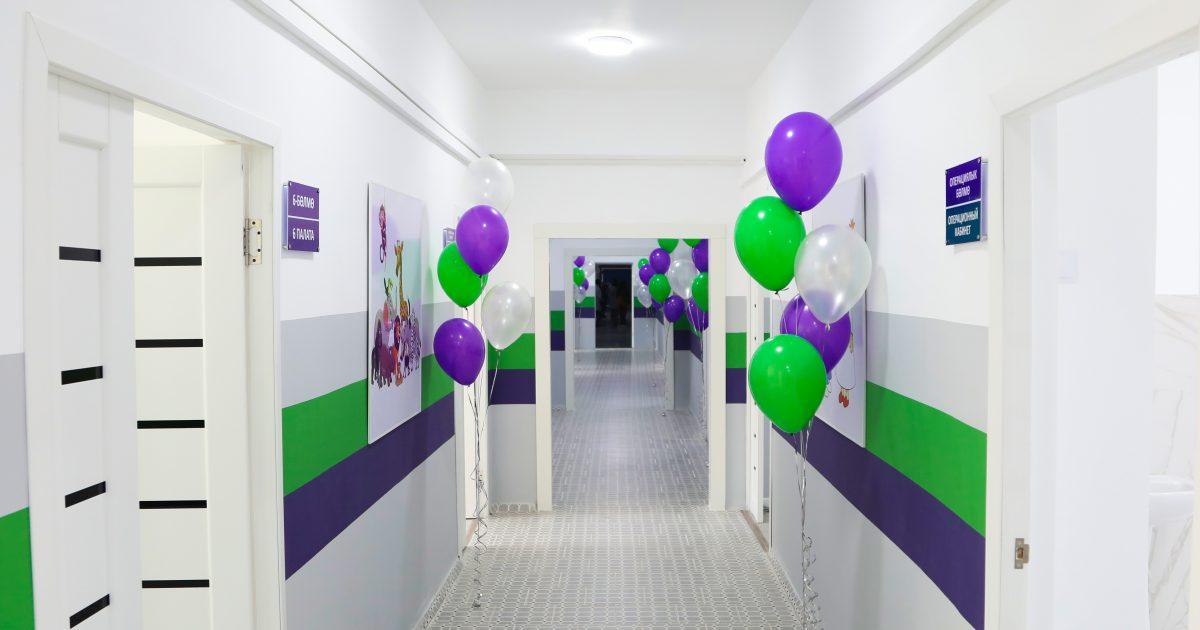 MegaCom отремонтировал ЛОР-отделение в  больнице, отказавшись от празднования юбилея