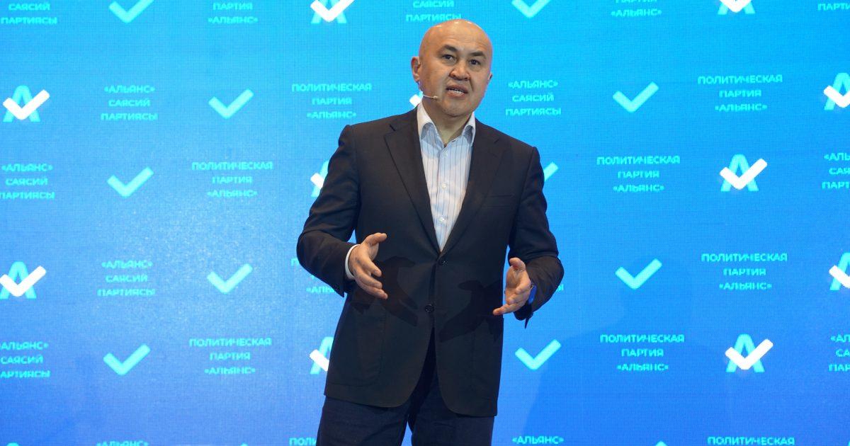 Алтынбек Сулайманов шайлоого бир мандаттуу округдан эмес, партия менен барат
