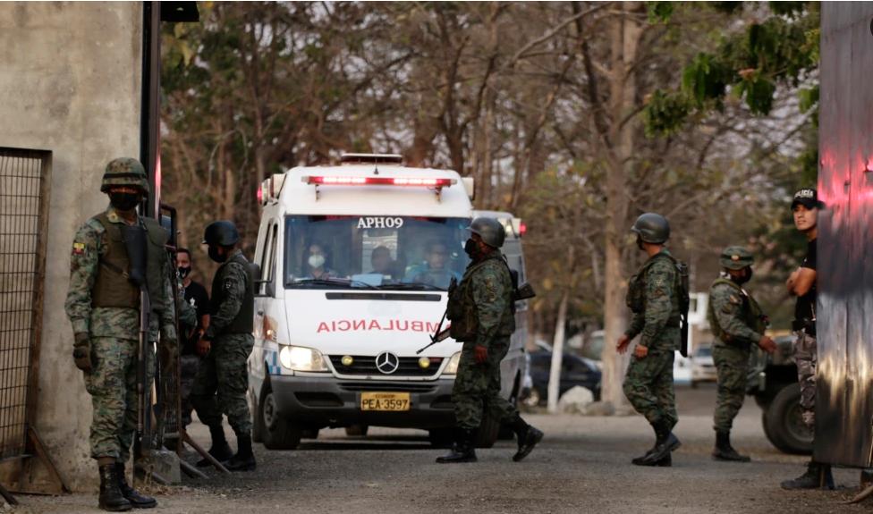 116 кишинин өмүрүн алган Эквадор түрмөсүнө өзгөчө абал киргизилди